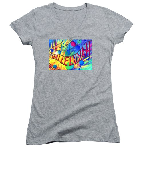 Halleluyah Women's V-Neck