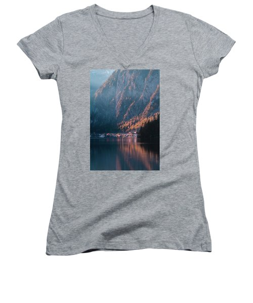 Hallstatt Fall Women's V-Neck