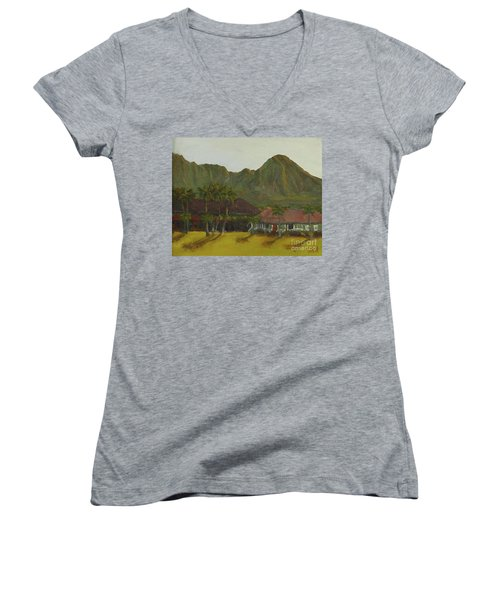 Hanalei Women's V-Neck T-Shirt
