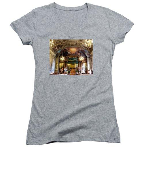 Handel's Organ Women's V-Neck T-Shirt