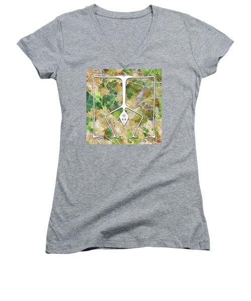 Handstand Women's V-Neck T-Shirt