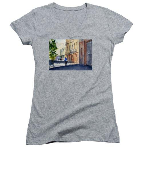 Hang Ah Alley Women's V-Neck T-Shirt