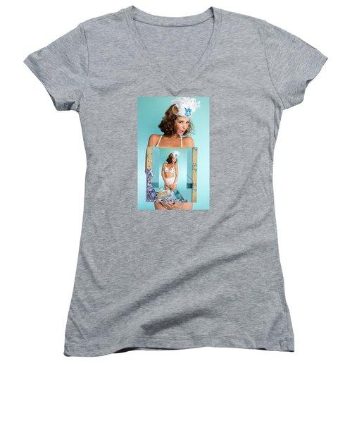 Beautiful Jewish Women Women's V-Neck T-Shirt