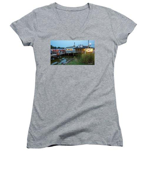 Happy Harbor Women's V-Neck T-Shirt