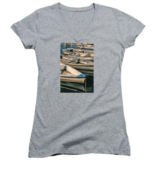 Harbor Boats Women's V-Neck (Athletic Fit)