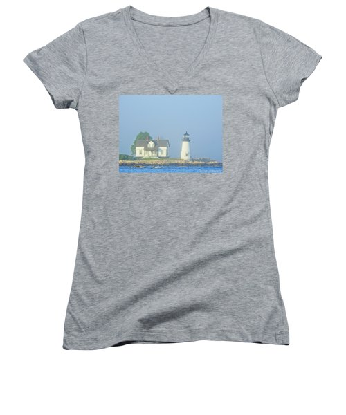Harbor Mist Women's V-Neck