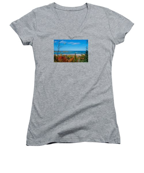 Harbor View  Women's V-Neck T-Shirt