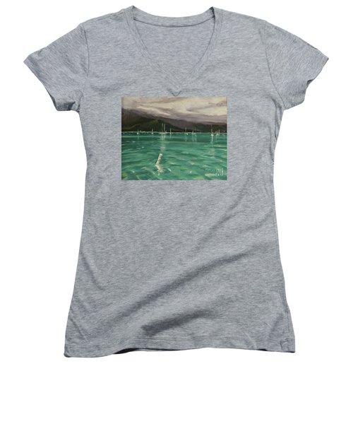 Harbor View Women's V-Neck T-Shirt