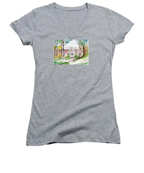 Hardaway House Women's V-Neck T-Shirt