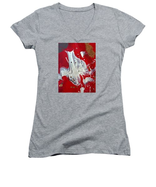 hardly Texas Women's V-Neck T-Shirt