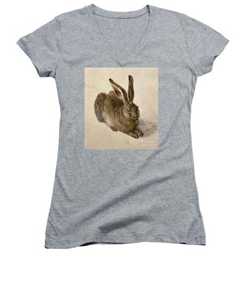 Hare Women's V-Neck