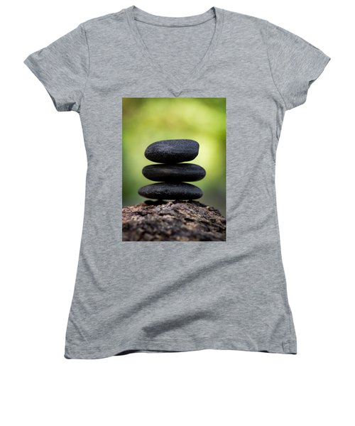 Women's V-Neck featuring the photograph Harmony by Dale Kincaid