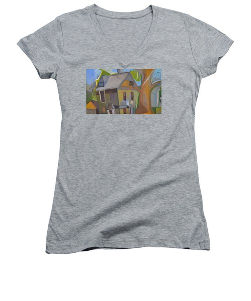 Harry's Tree Women's V-Neck T-Shirt