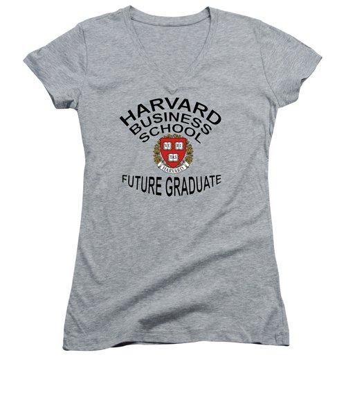 Harvard Business School Future Graduate Women's V-Neck