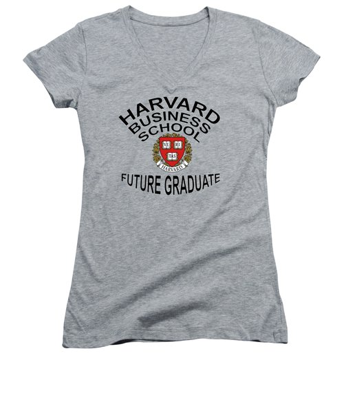 Harvard Business School Future Graduate Women's V-Neck (Athletic Fit)