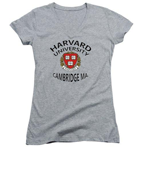 Harvard University Cambridge Ma Women's V-Neck