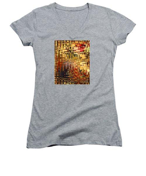 Harvest Dawn Women's V-Neck T-Shirt