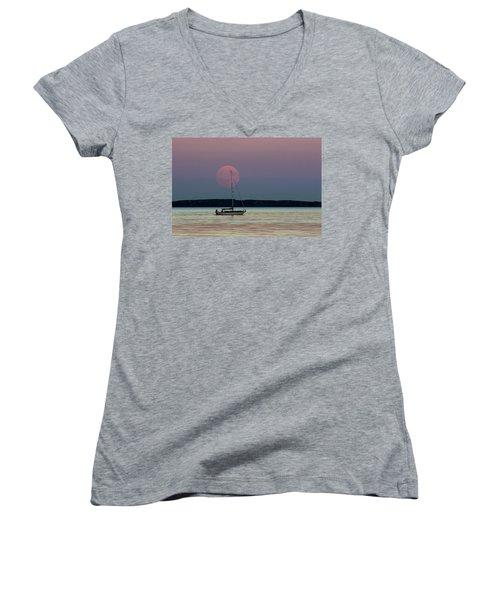 Harvest Moon - 365-193 Women's V-Neck T-Shirt