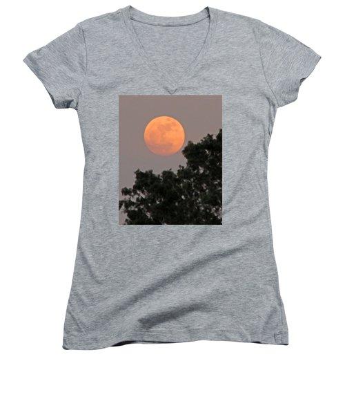 Harvest Moonrise Women's V-Neck