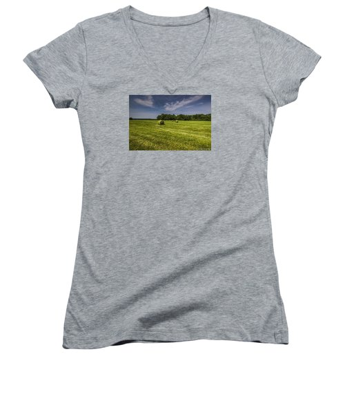 Harvested Women's V-Neck