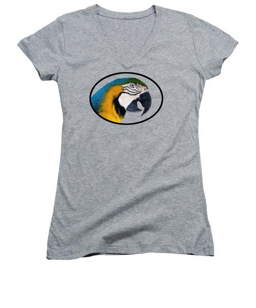 Harvey 2 T-shirt Women's V-Neck T-Shirt (Junior Cut) by Bob Slitzan