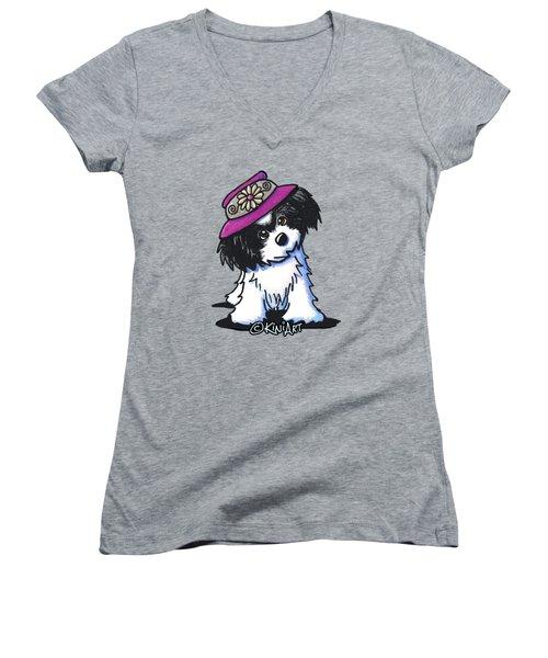 Havanese Sunshine Women's V-Neck T-Shirt