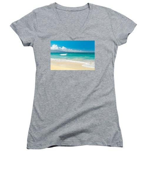 Hawaii Beach Treasures Women's V-Neck
