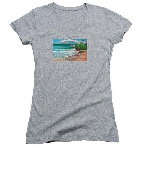 Hawaii Honeymoon Women's V-Neck T-Shirt