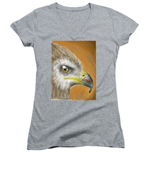 Hawk Women's V-Neck (Athletic Fit)