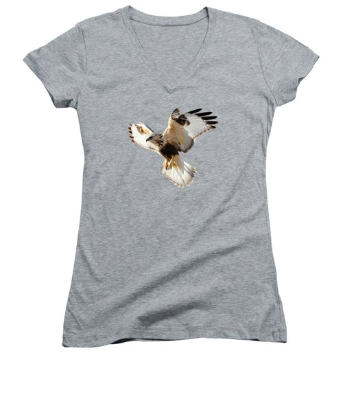 Hawk T-shirt Women's V-Neck T-Shirt