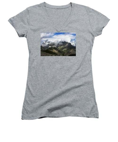 Head In The Clouds Women's V-Neck