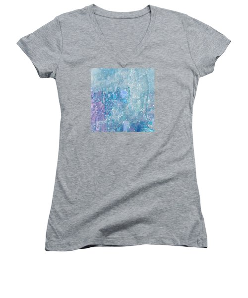 Women's V-Neck T-Shirt (Junior Cut) featuring the photograph Healing Art By Sherri Of Palm Springs by Sherri  Of Palm Springs