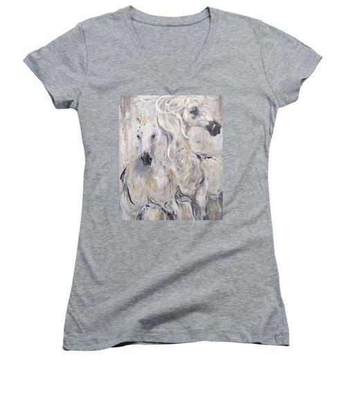 Heart N Soul Women's V-Neck T-Shirt