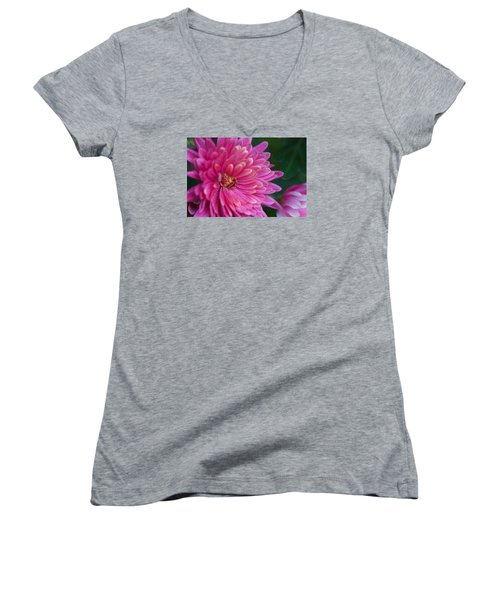 Heart Of A Mum Women's V-Neck T-Shirt
