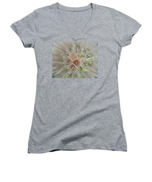 Heart Of The Dandelion Women's V-Neck