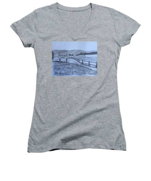 Hearts Desire Beach Women's V-Neck T-Shirt