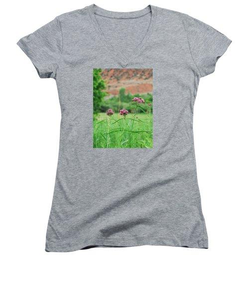Heat Retreat Women's V-Neck T-Shirt