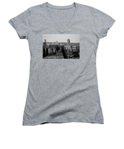 Heaven And Earth Women's V-Neck T-Shirt