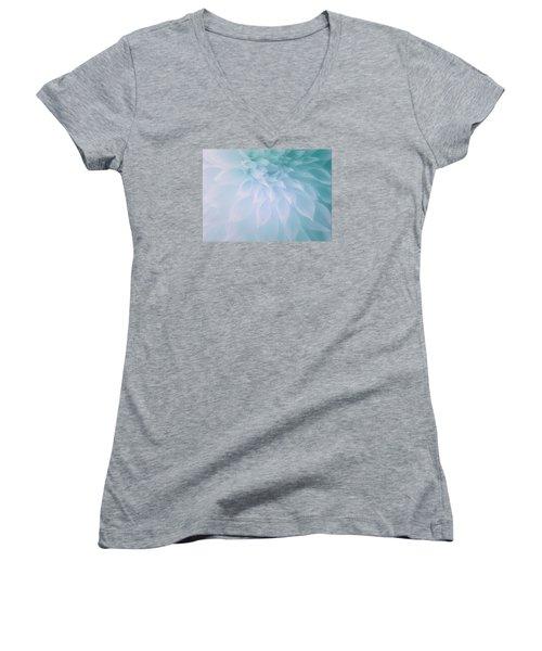 Women's V-Neck T-Shirt (Junior Cut) featuring the photograph Heavenly Glory by The Art Of Marilyn Ridoutt-Greene