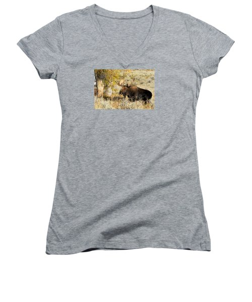 Heck Yeah Women's V-Neck T-Shirt