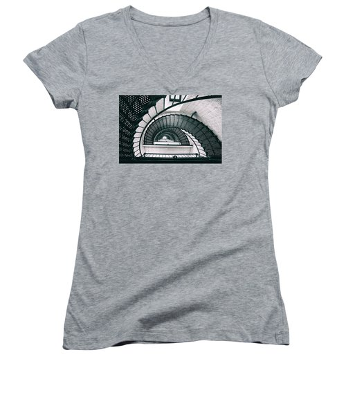 Helix Eye Women's V-Neck T-Shirt