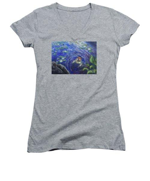 Hello Women's V-Neck T-Shirt