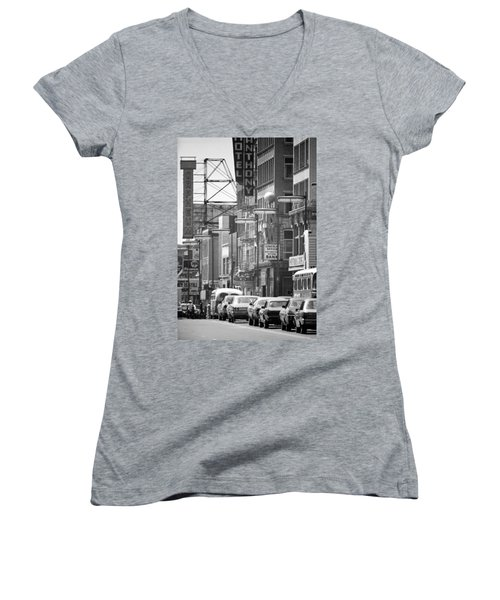 Hennepin And The Orpheum Women's V-Neck