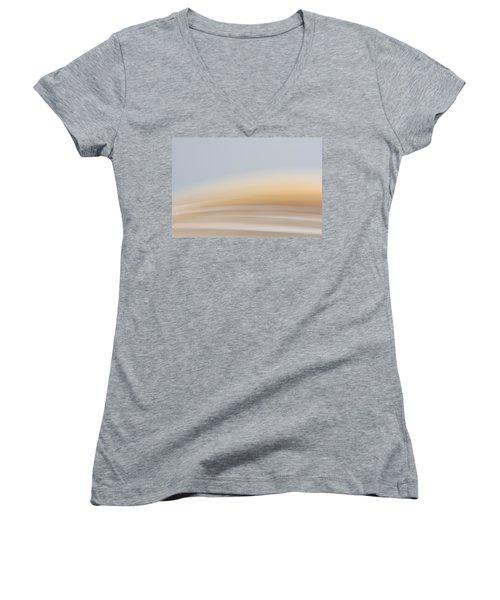 Her Heart Was Magical Women's V-Neck T-Shirt (Junior Cut) by Yvette Van Teeffelen