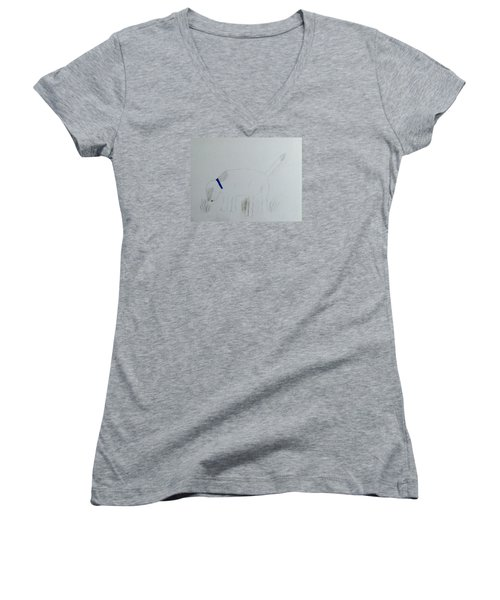 Here Boy Women's V-Neck T-Shirt