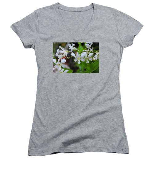 Women's V-Neck T-Shirt featuring the photograph Hero Of My Heart by Michiale Schneider