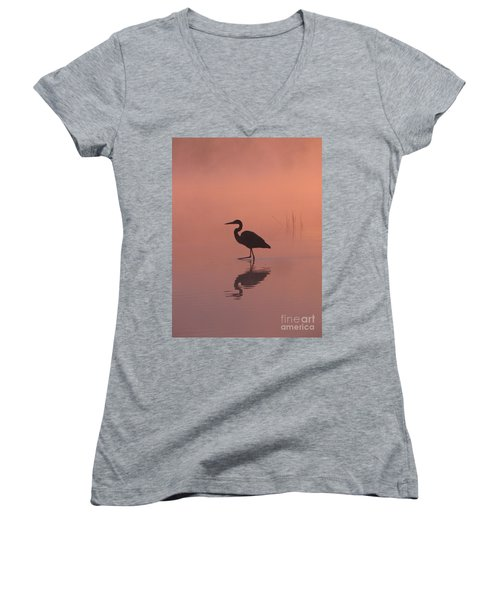 Heron Collection 1 Women's V-Neck (Athletic Fit)