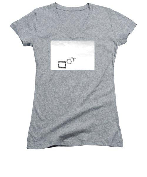Hi Key Morning Women's V-Neck T-Shirt