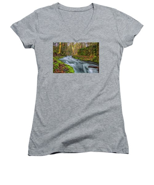 Hidden Creek Women's V-Neck (Athletic Fit)