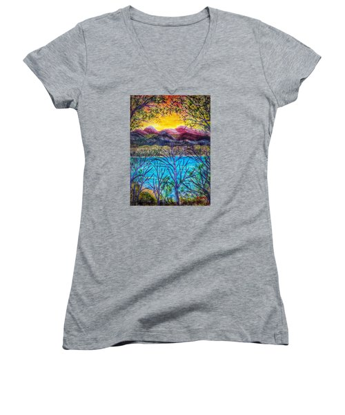 Hidden Lake Women's V-Neck